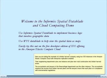 Spatial DataBlade demo