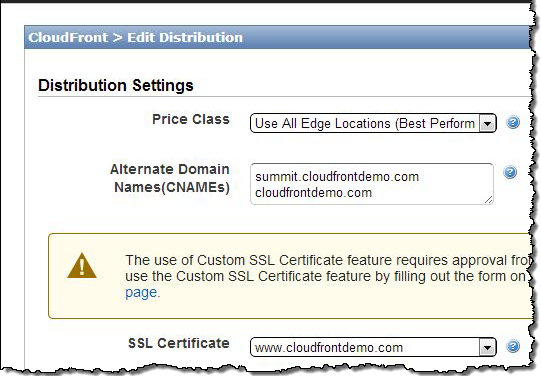 Custom Ssl Domain Names And Root Domain Hosting For Amazon