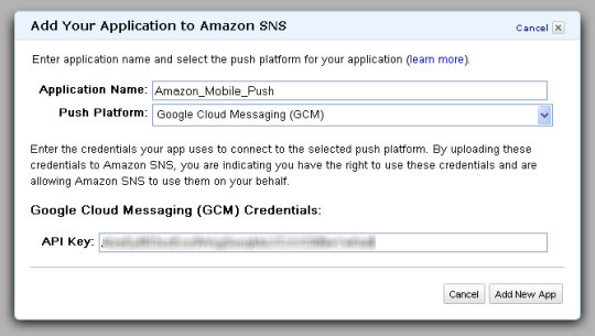 Push Notifications to Mobile Devices Using Amazon SNS | AWS News Blog