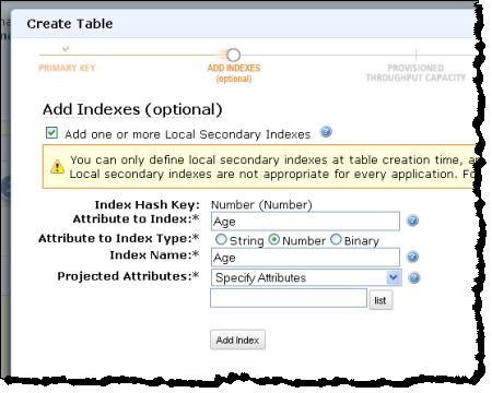 Local Secondary Indexes for Amazon DynamoDB   AWS News Blog