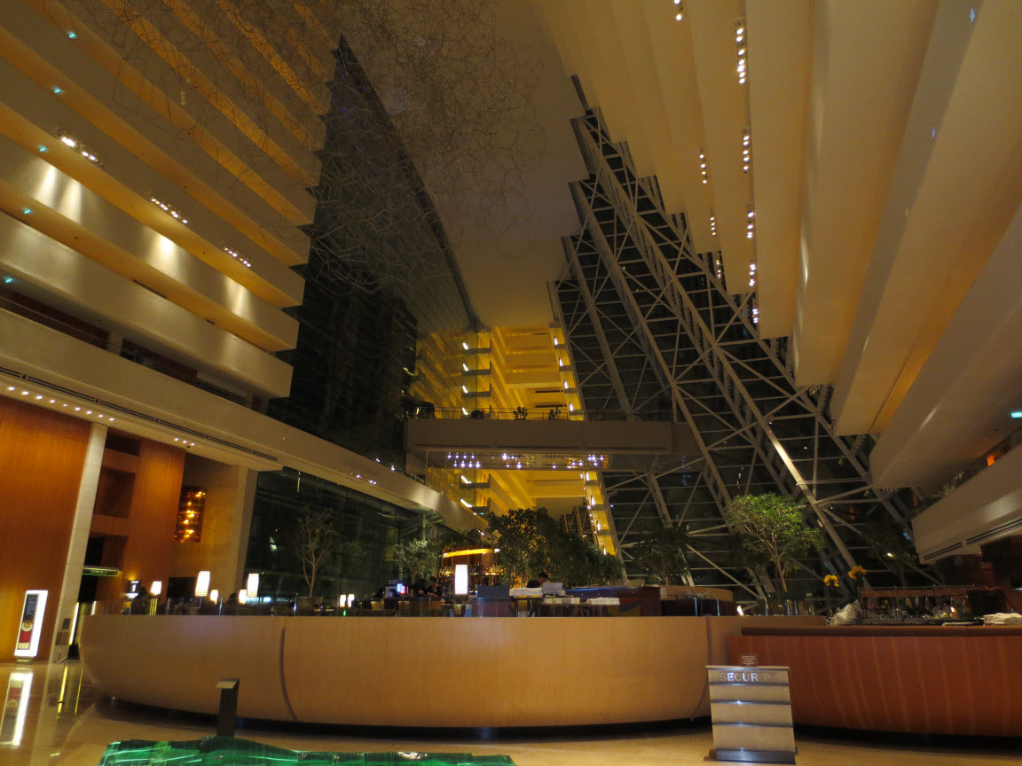 Marina Bay Sands Lobby