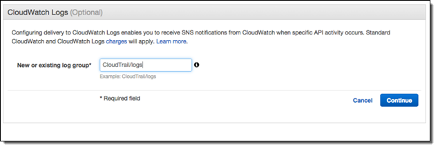 New – CloudTrail Integration with CloudWatch Logs