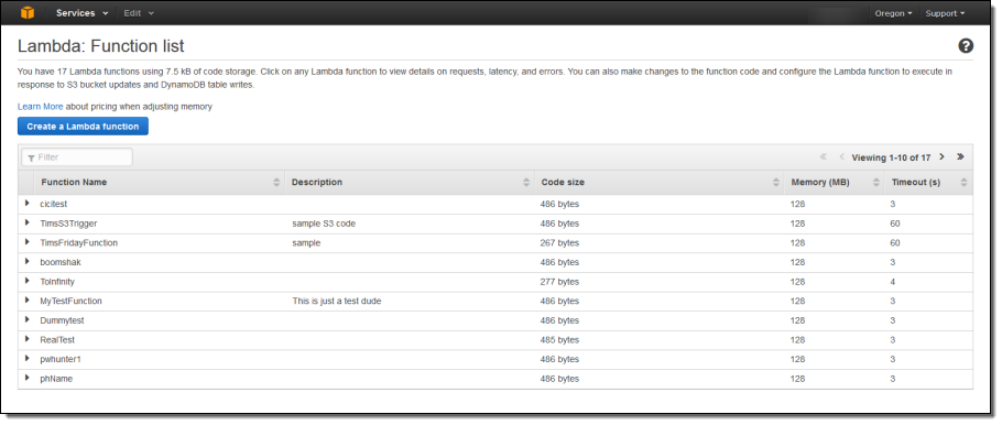 how to create lambda functions from scratch in aws