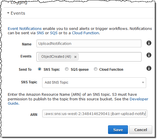 New Event Notifications for Amazon S3 | AWS News Blog