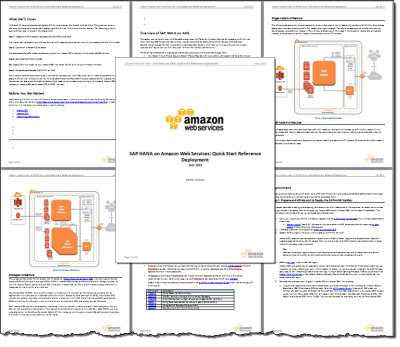 Luxury Rapidly Deploy SAP HANA on AWS With New Deployment Guide and Templates