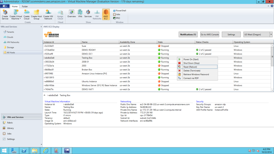 System Center Virtual Machine Manager Add-In Update – Import