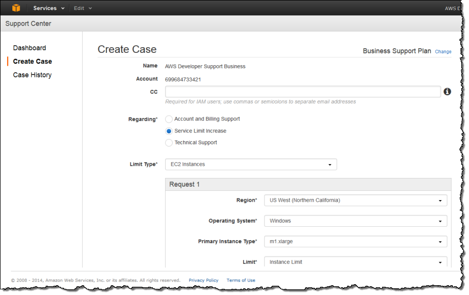 AWS Support Center Moves to AWS Management Console | AWS