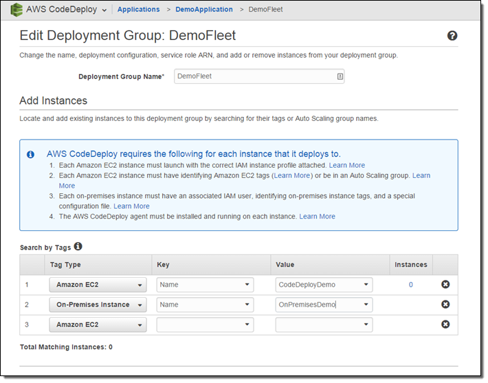 AWS CodeDeploy Update – New Support for On-Premises