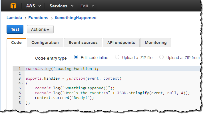 New CloudWatch Events – Track and Respond to Changes to Your