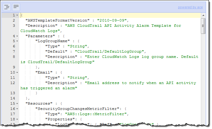 Cloudtrail integration with cloudwatch in four more regions aws go to the cloudformation console and create a stack for uploading the template give the stack a name that is meaningful to you and upload the maxwellsz