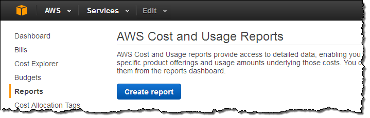 Adventure through the amazon new aws cost and usage for Cost to build report