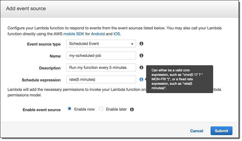 AWS Lambda Update – Python, VPC, Increased Function Duration