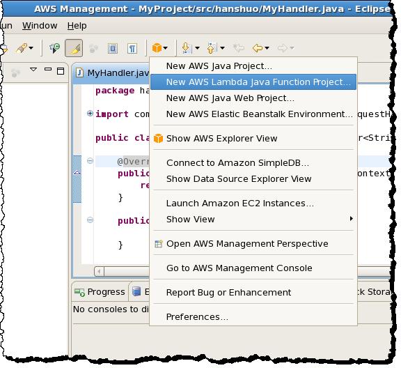 AWS Lambda Update – Run Java Code in Response to Events | AWS News Blog