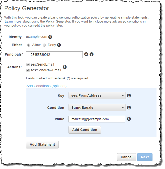 New – Sending Authorization for the Amazon Simple Email