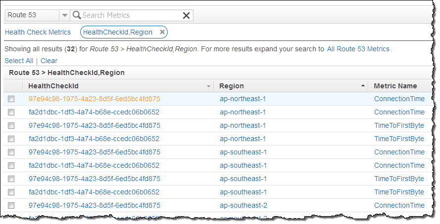 Route 53 Improvements – Calculated Health Checks and Latency Checks