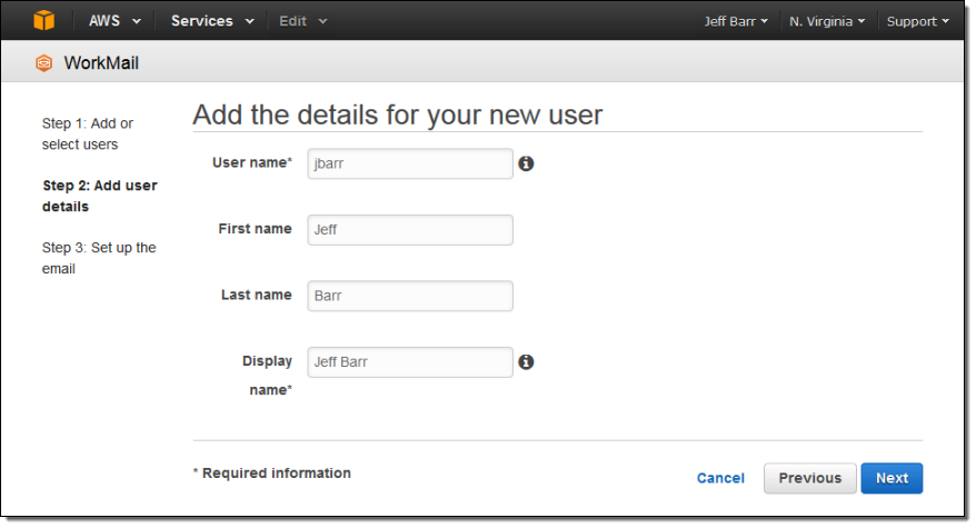 Amazon WorkMail – Managed Email and Calendaring in the AWS