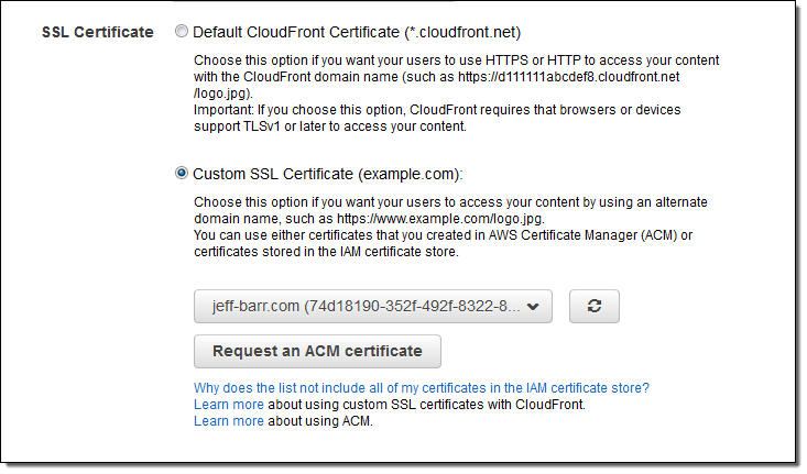 New Aws Certificate Manager Deploy Ssl Tls Based Apps On Aws Aws News Blog