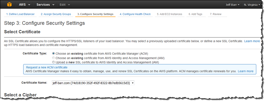 New – AWS Certificate Manager – Deploy SSL/TLS-Based Apps on AWS ...