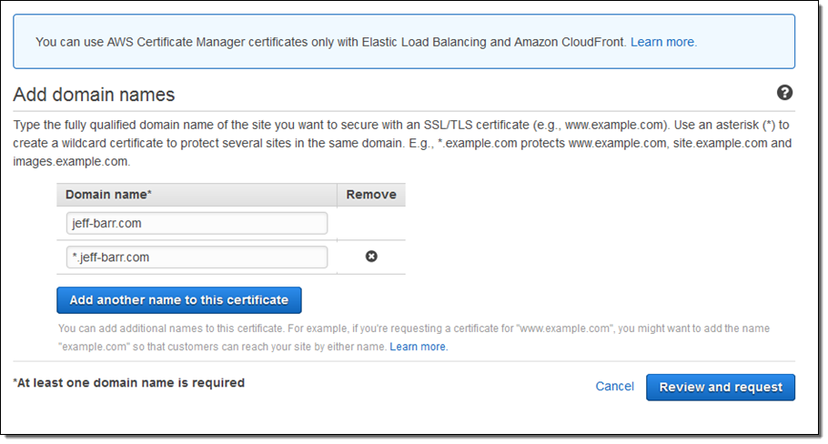 New Aws Certificate Manager Deploy Ssltls Based Apps On Aws