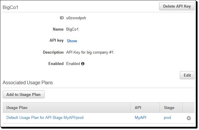 New – Usage Plans for Amazon API Gateway | AWS News Blog