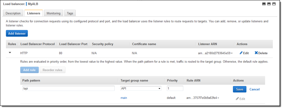 New – AWS Application Load Balancer | AWS News Blog