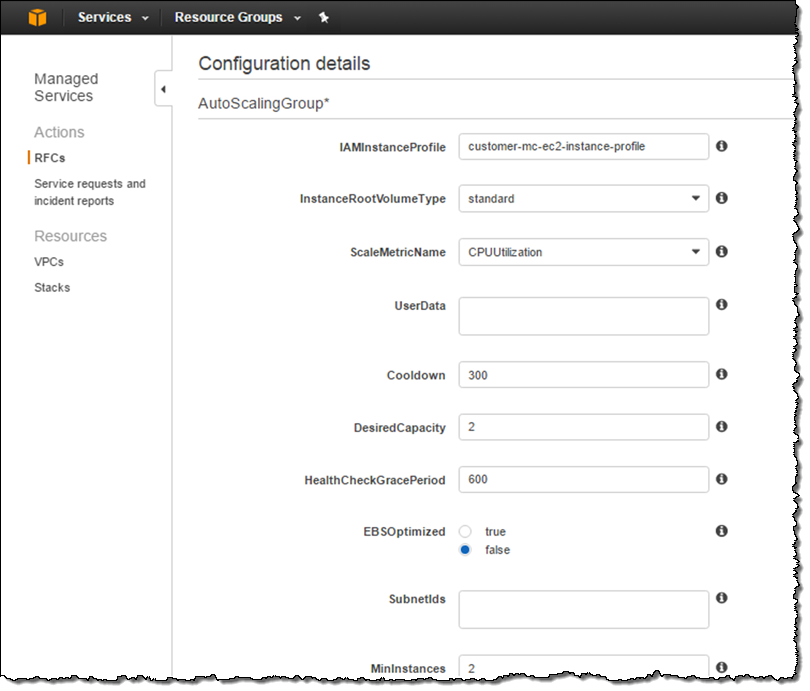 AWS Managed Services – Infrastructure Operations Management for the