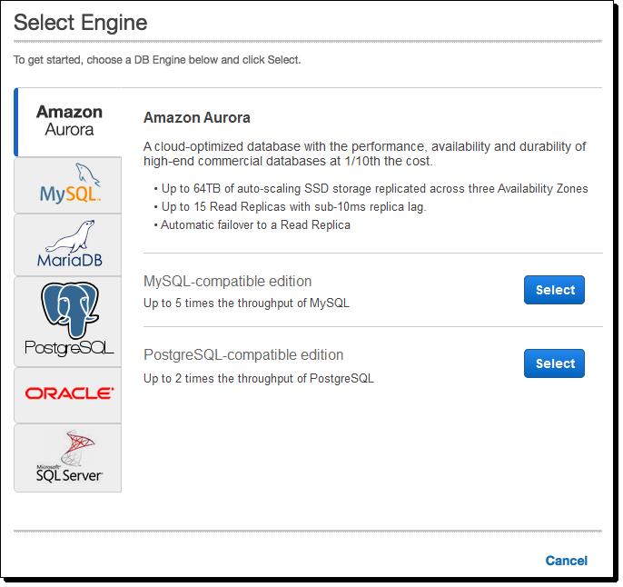 Amazon Aurora Update – PostgreSQL Compatibility   AWS News Blog