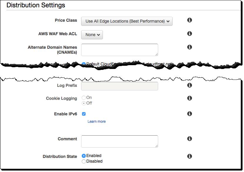 amazon cloudfront IPv6