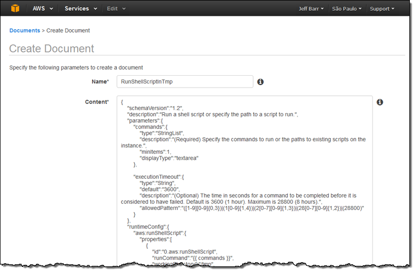 Ec2 run command update manage amp share commands and more aws blog