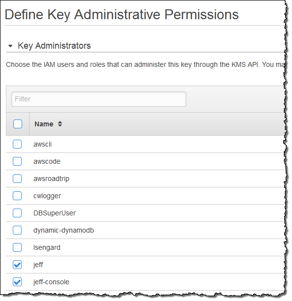 New – Bring Your Own Keys with AWS Key Management Service