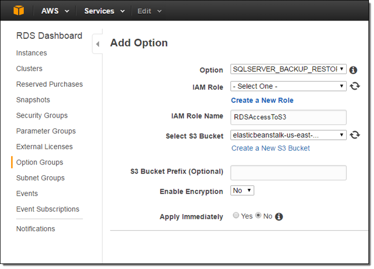Amazon RDS For SQL Server Support For Native BackupRestore To - Backup and restore procedures template