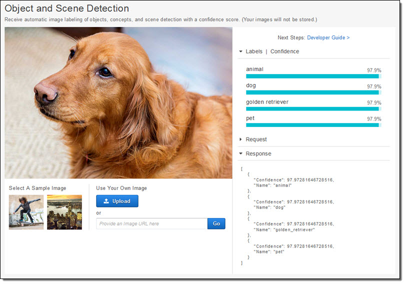 Amazon Rekognition – Image Detection and Recognition Powered
