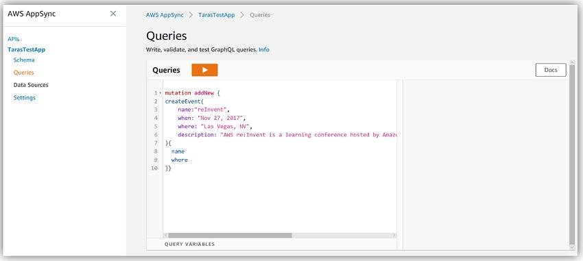 Amazon AppSync 简介 – 使用实时和离线功能构建数据驱动型应用