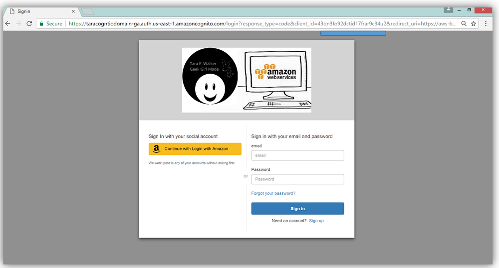 Launch – Amazon Cognito User Pools General Availability: App
