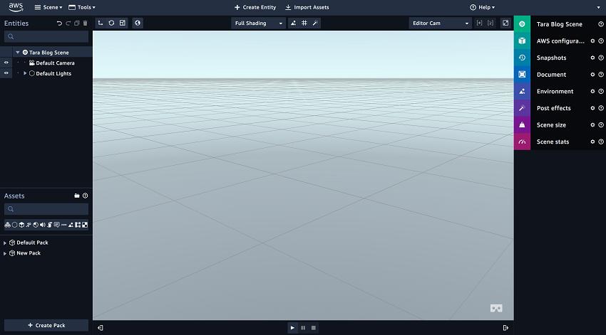 Presenting Amazon Sumerian: An easy way to create VR, AR
