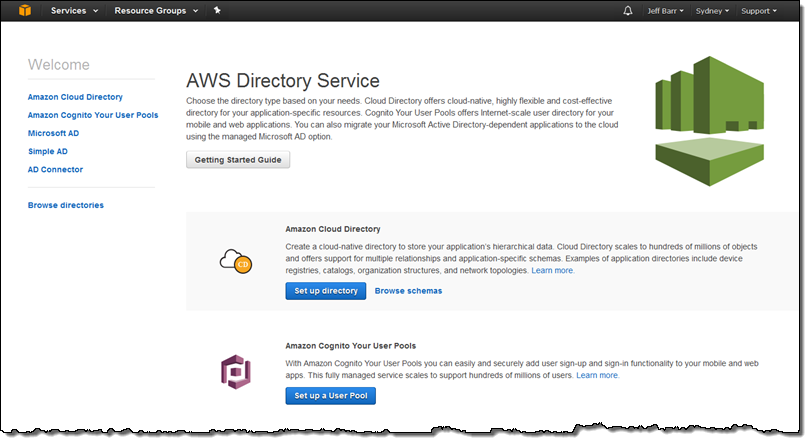 Amazon Cloud Directory