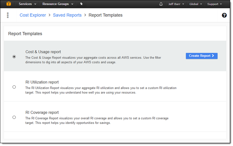 Aws cost explorer update better filtering grouping for Cost to build report