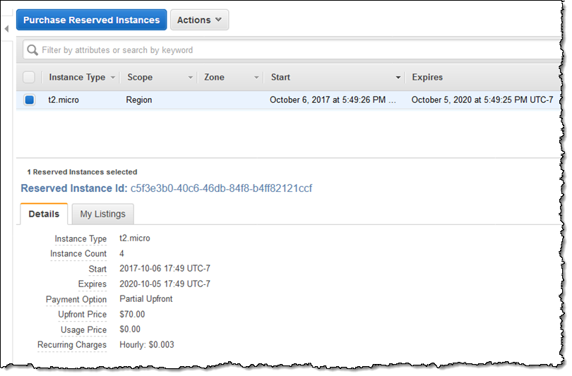 konkurrenzfähiger Preis Promo-Codes 100% authentifiziert EC2 Convertible Reserved Instance Update – New 1-Year CRI ...