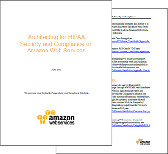AWS HIPAA Eligibility Update (July 2017) – Eight Additional Services