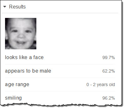 amazon rekognition update estimated age range for faces aws news