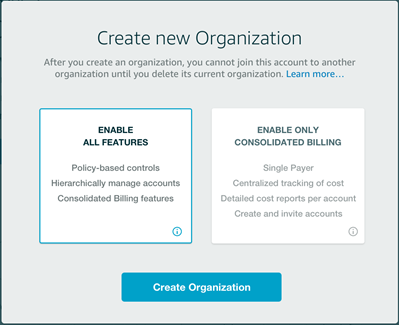 AWS Organizations – Policy-Based Management for Multiple AWS