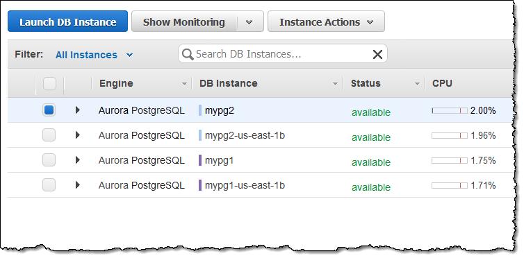 Now Available – Amazon Aurora with PostgreSQL Compatibility | AWS