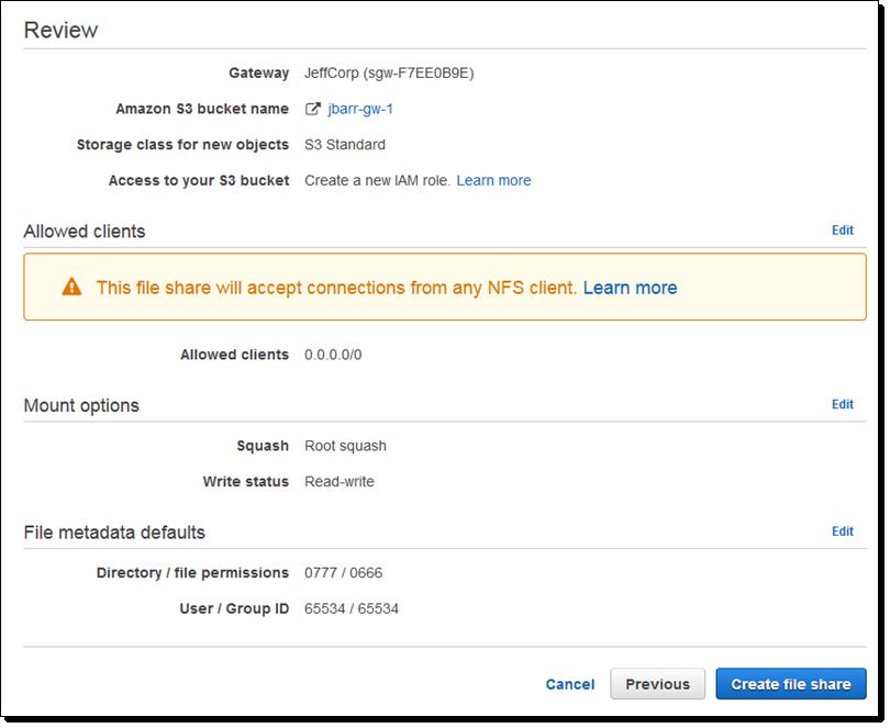 File Interface to AWS Storage Gateway   AWS News Blog