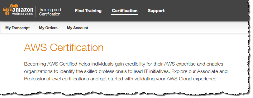 New AWS Certification Specialty Exams & Benefits | AWS News Blog