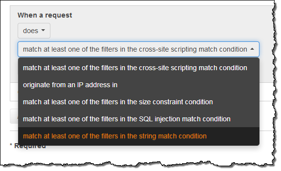 Protect Web Sites & Services Using Rate-Based Rules for AWS