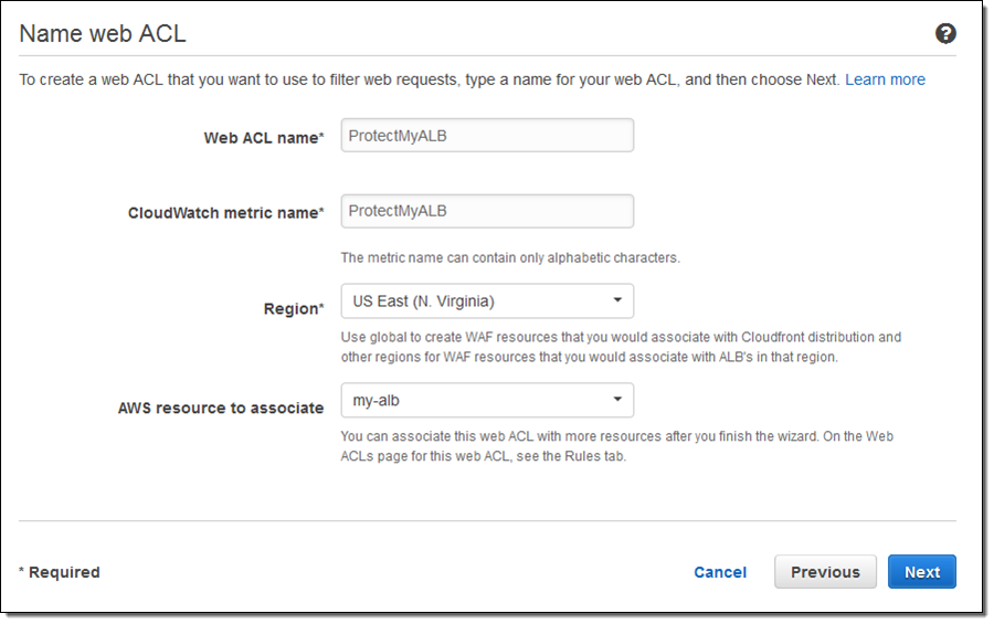 AWS Web Application Firewall (WAF) for Application Load Balancers