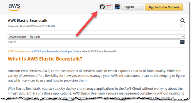 AWS Documentation is Now Open Source and on GitHub | AWS News Blog