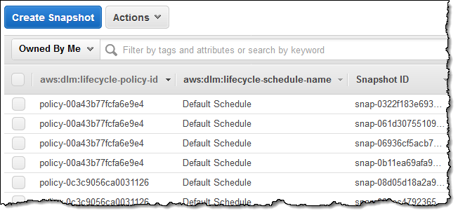 New – Lifecycle Management for Amazon EBS Snapshots   AWS