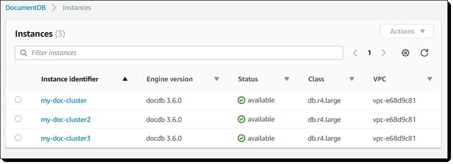 New – Amazon DocumentDB (with MongoDB Compatibility): Fast