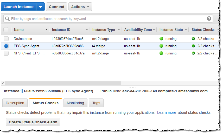 EFS File Sync – Faster File Transfer To Amazon EFS File Systems